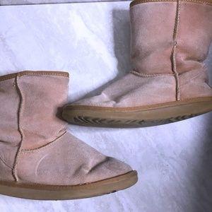 UGG Size 10 Sand Classic Winter Sheepskin Boots